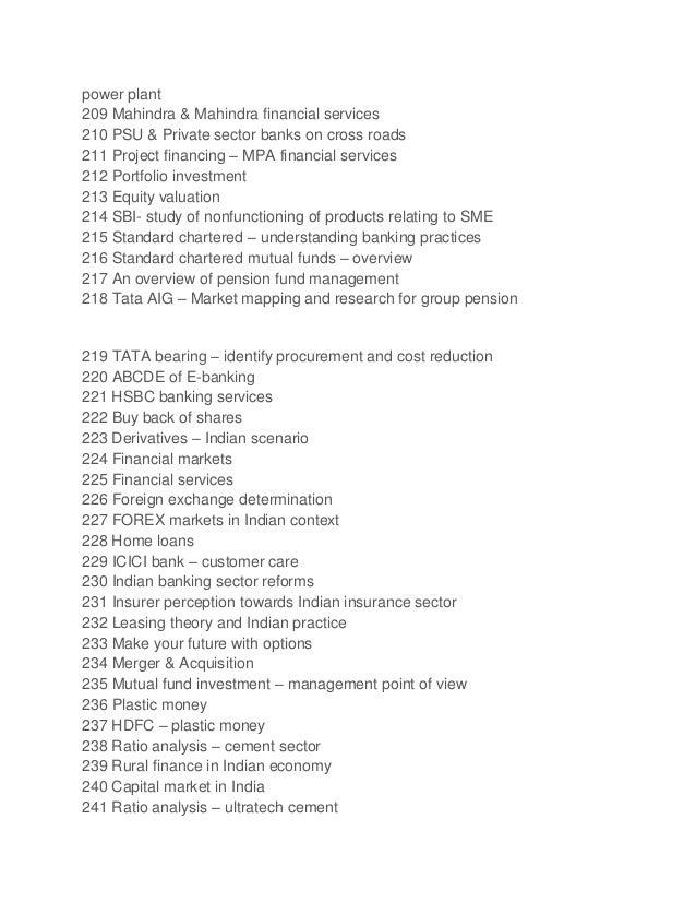 research topics in finance pdf