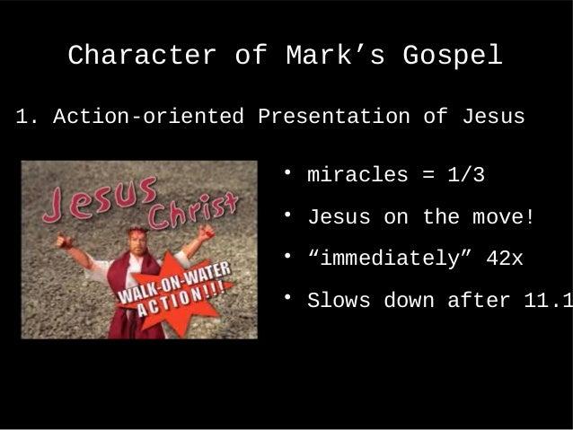 Topic Ten The Gospel of Mark, Synoptic Problem (+ Exam)