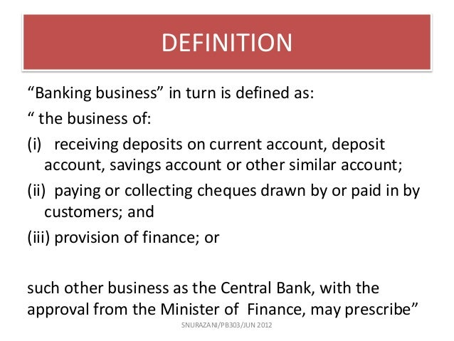 Forex bank account meaning