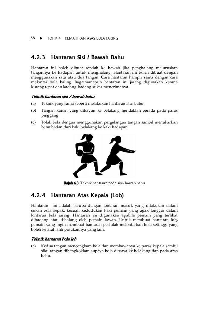Topik 4 Kemahiran Asas Bola Jaring