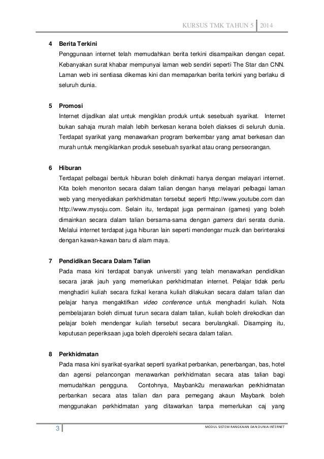 Topik 5 Etika Penggunaan Internet