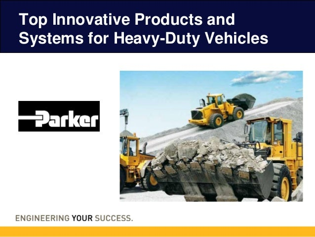 Top Innovative Products and Systems for Heavy-Duty Vehicles