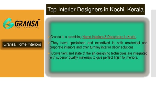 Top interior design companies in kochi to watch for for Interior design directory