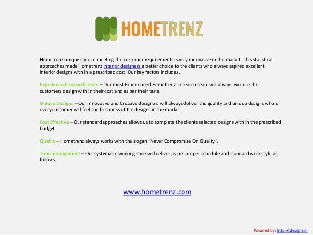 Top Interior Designers In Hyderabad Decorators