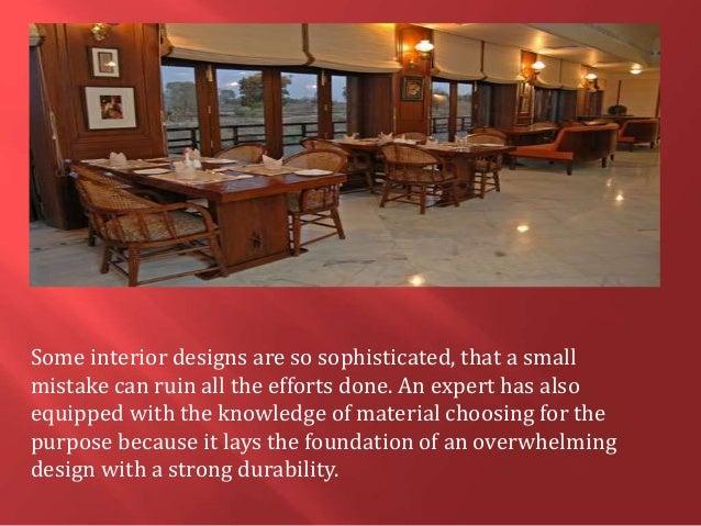 4 Some Interior Designs