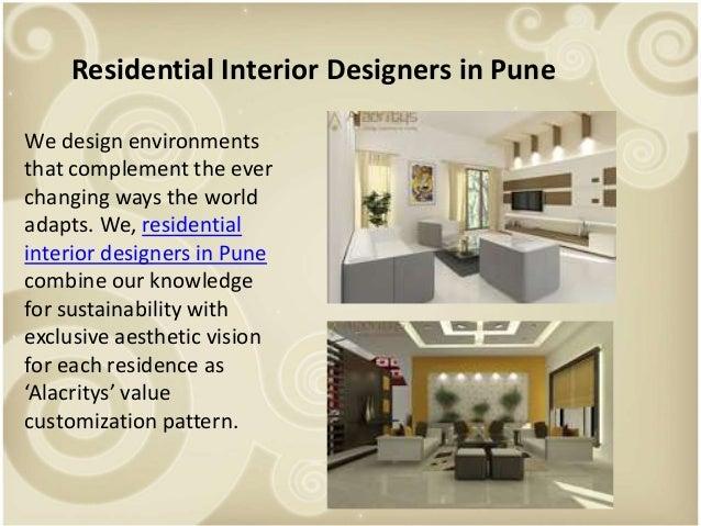Top interior designers in pune
