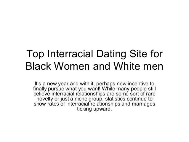 Black white dating statistics for black