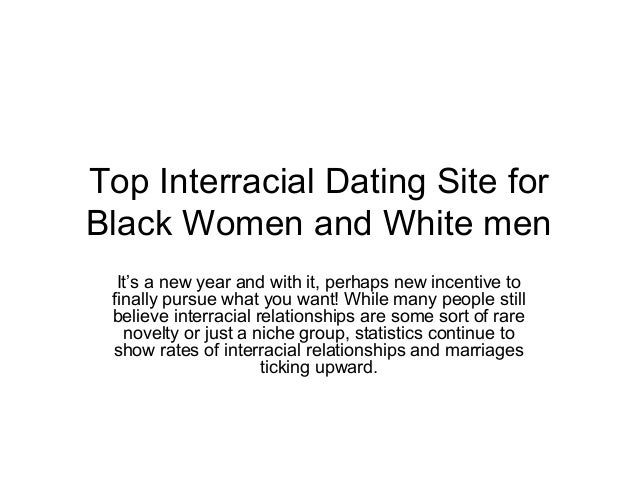 Interracial dating stats