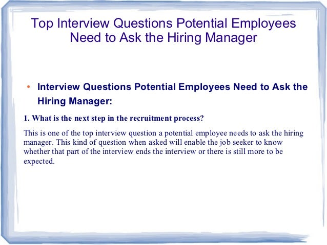 Hiring a writer new employee questions to ask