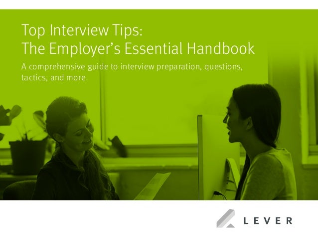 Top Interview Tips Tips