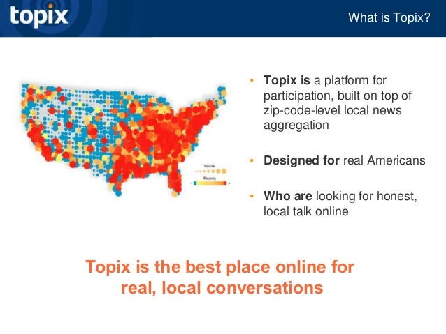 Geolocation Local And Mobile Advertising Chris Tolles Topix Ist
