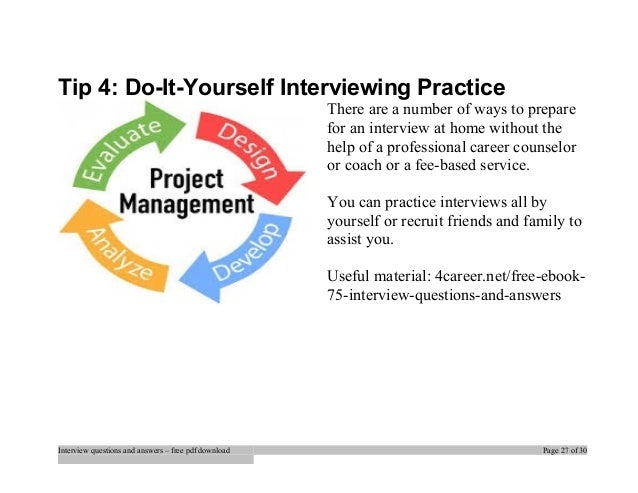 Top jcl interview questions and answers job interview tips interview questions and answers free pdf download page 26 of 30 27 tip 4 do it yourself solutioingenieria Gallery