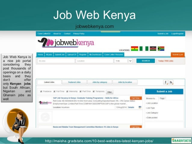 A List of Top Kenyan Jobs Websites