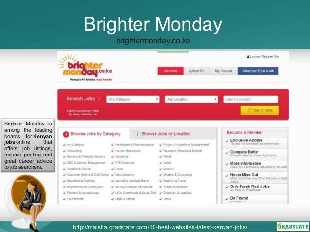 online job site list