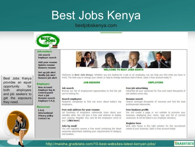 list of jobs websites