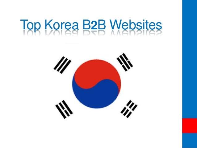 Top Korea B2B Websites