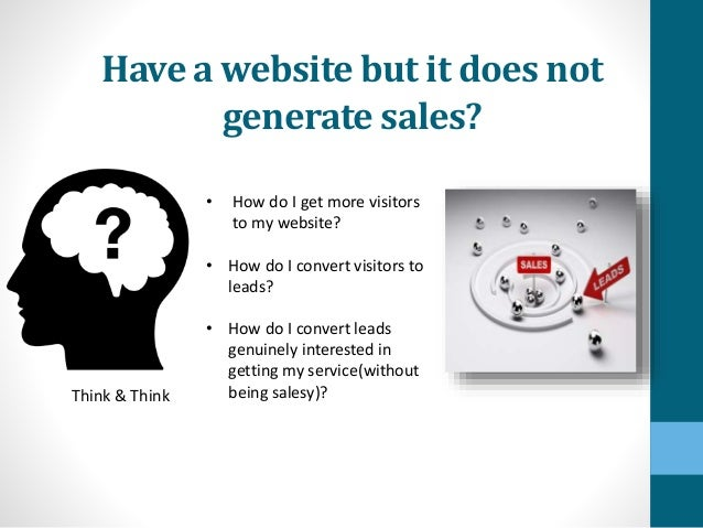 top lead generation ideas for a struggling businessGenerating Sales Leads Ideas #3