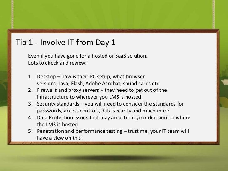 Top LMS Implementation Tips Slide 2