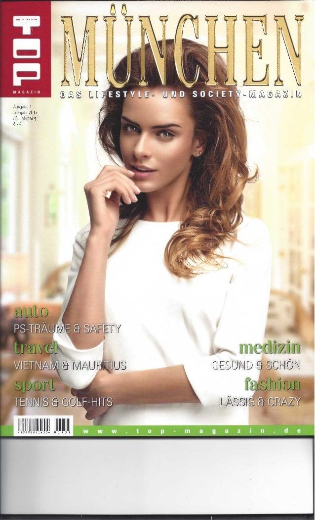 Top magazin münchen Spring 2015 - RP/DIN