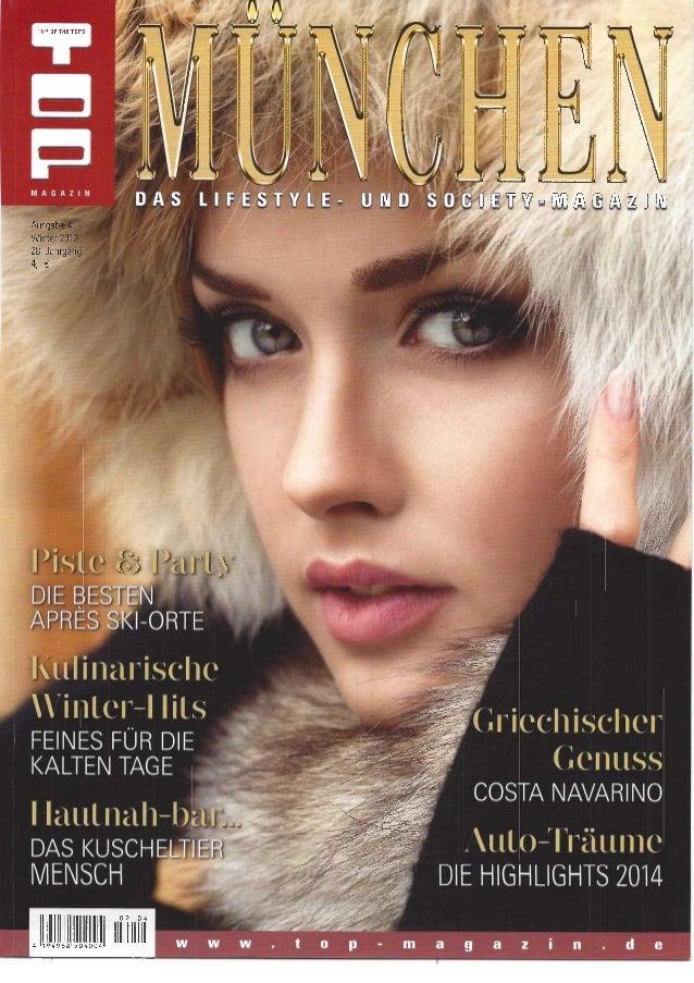 Top Magazin München Winter 2013