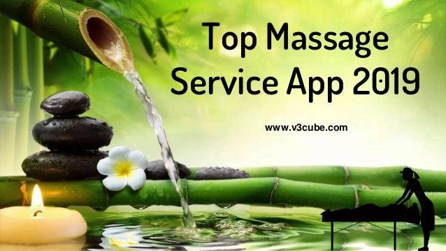 Top Massage Service App 2019 www.v3cube.com