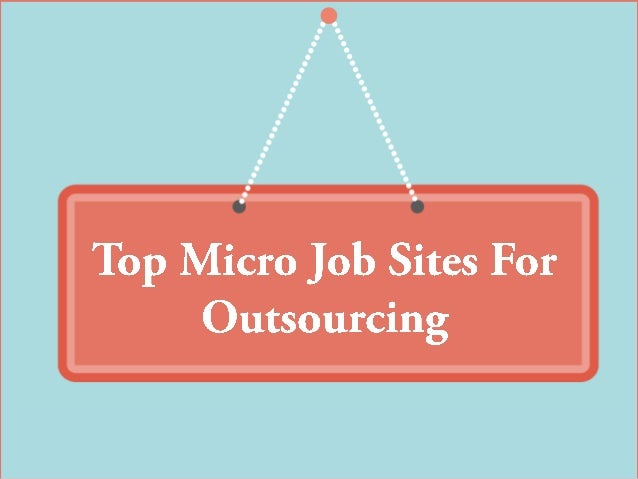 Powered by: www.topsiteslikefiverr.com What are Micro Job sites? Micro jobs are small jobs. Micro jobs are also known as m...