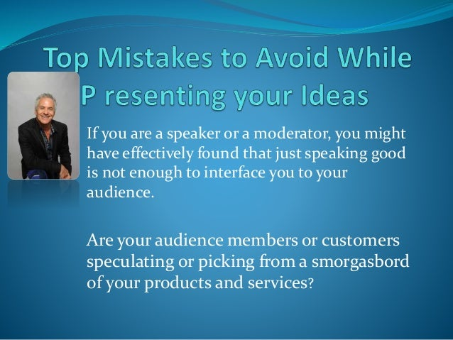 If you are a speaker or a moderator, you might have effectively found that just speaking good is not enough to interface y...