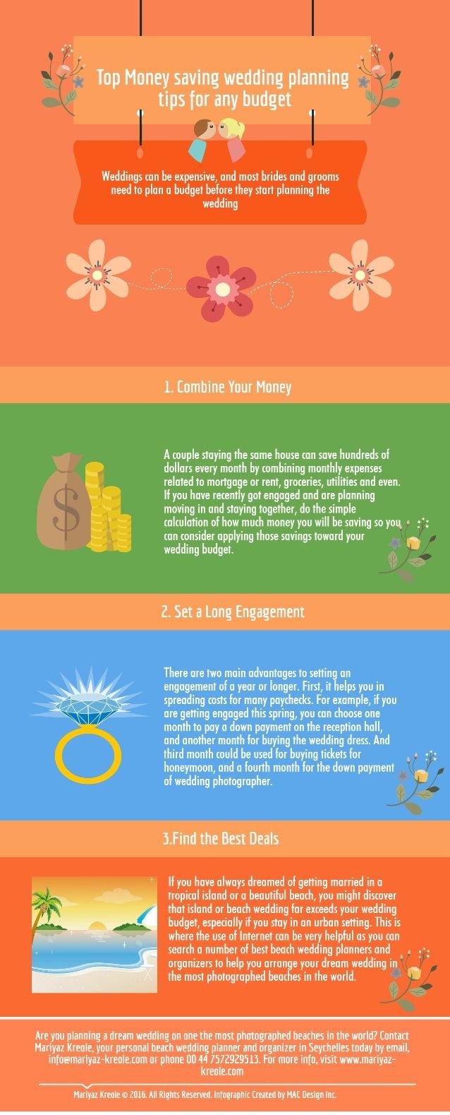 Top money saving wedding planning tips from seychelles wedding planner & organizer