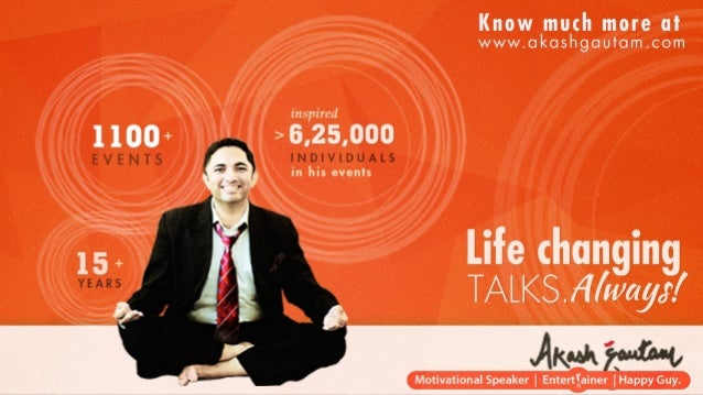 Akash Gautam - Top Motivational Speaker for Youth And College Students in India Slide 2