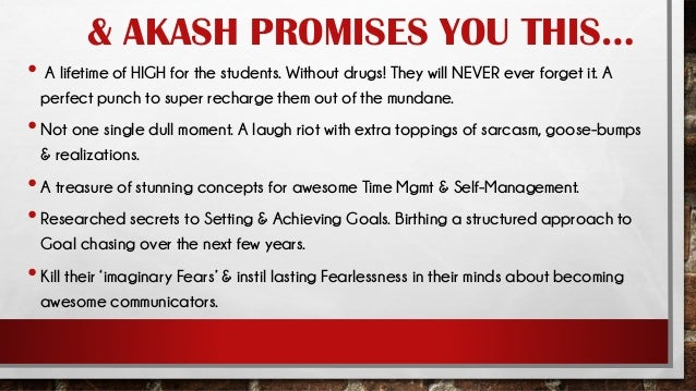 Akash Gautam - Top Motivational Speaker for Youth And College Students in India Slide 3