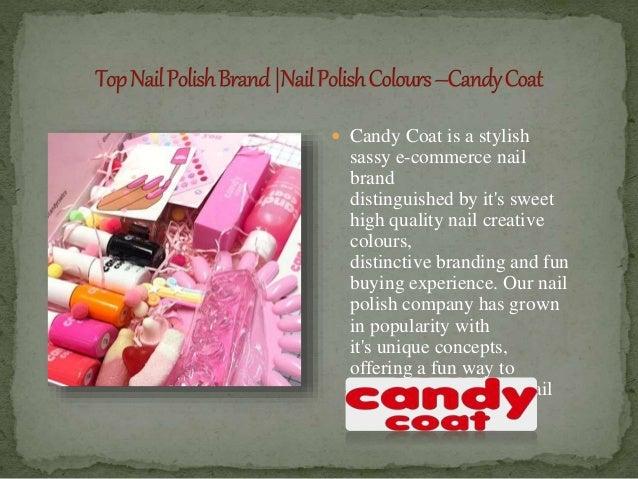 Top Nail Polish Brand  Nail Polish Colours –Candy Coat