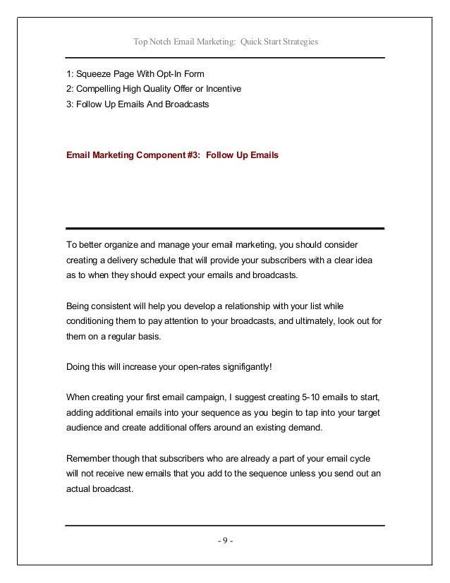 Top notch email marketing 9 spiritdancerdesigns Images