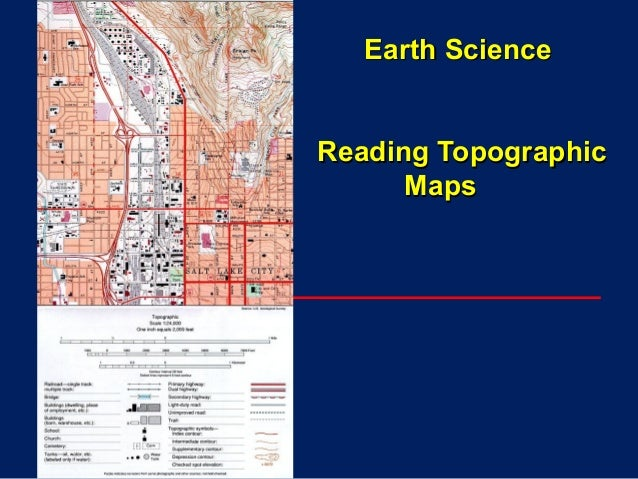 Earth ScienceEarth Science Reading TopographicReading Topographic MapsMaps