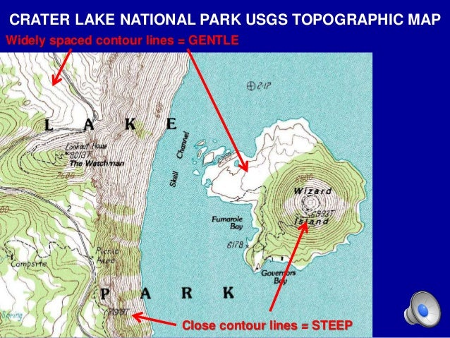 Hpu Ncs2200 Topographic Maps Powerpoint Le