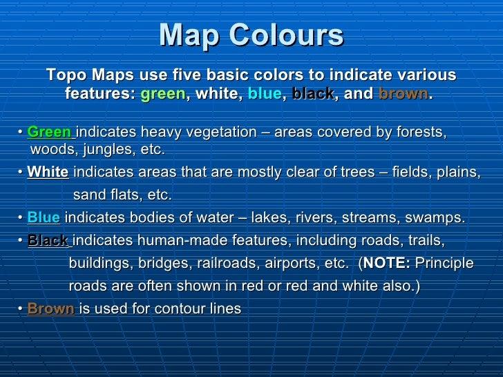 Topographic maps presentation_mine
