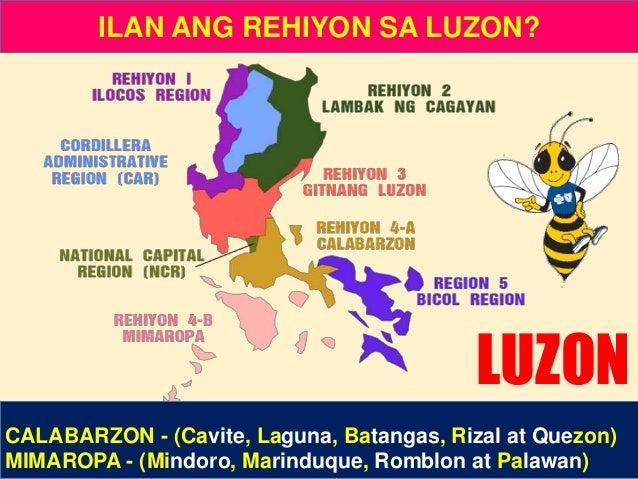 Ano ang Rehiyon III? • Bicol Region • Gitnang Luzon • Lambak ng Cagayan Mga Katanungan: Ano ang Rehiyon I? • Ilocos Region...