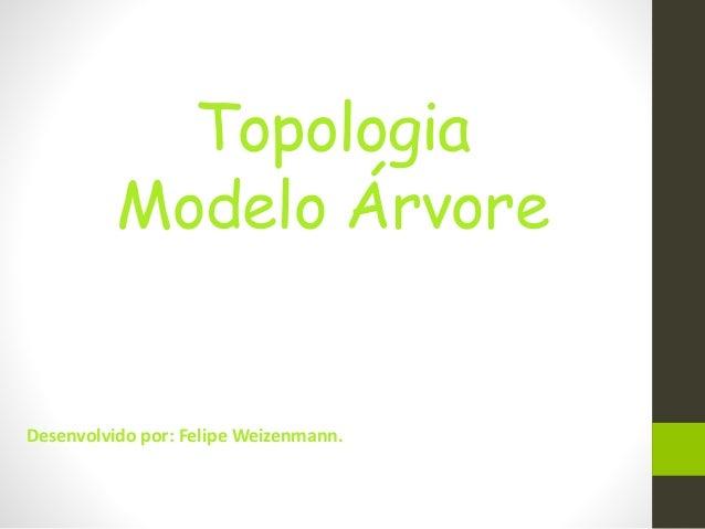 Topologia Modelo Árvore Desenvolvido por: Felipe Weizenmann.