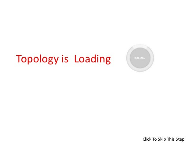 Topology is Loading                      Click To Skip This Step