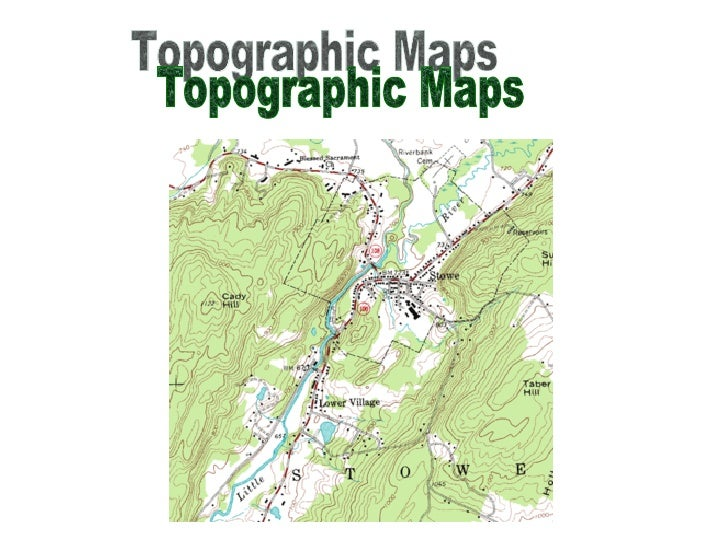 How to Read and Interpret Topographic Maps
