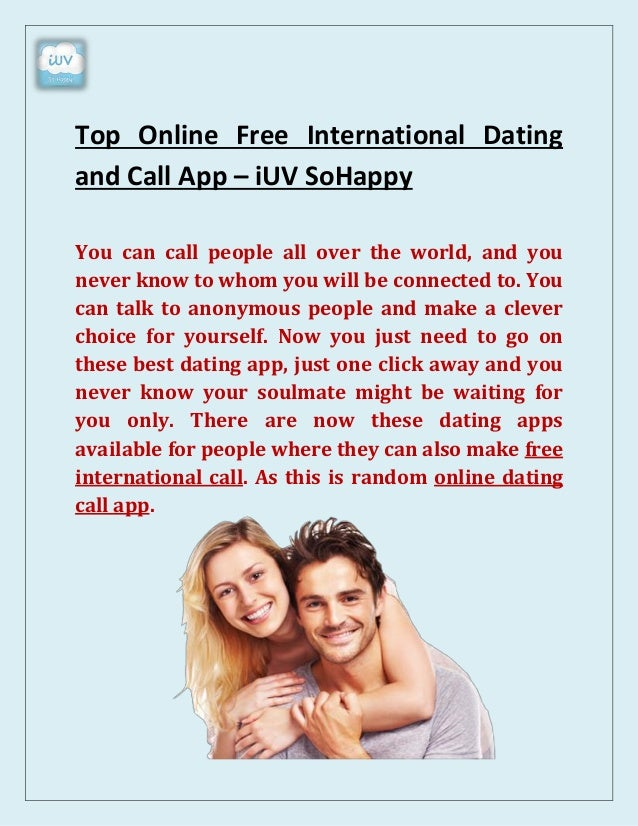 Dating online all over the world