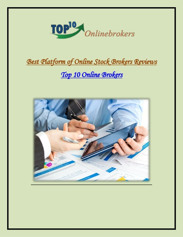 Choosing the Best Online Brokerage
