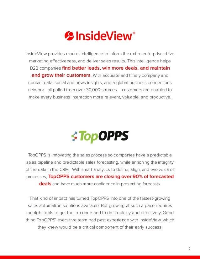 TopOPPS Case Study Slide 2