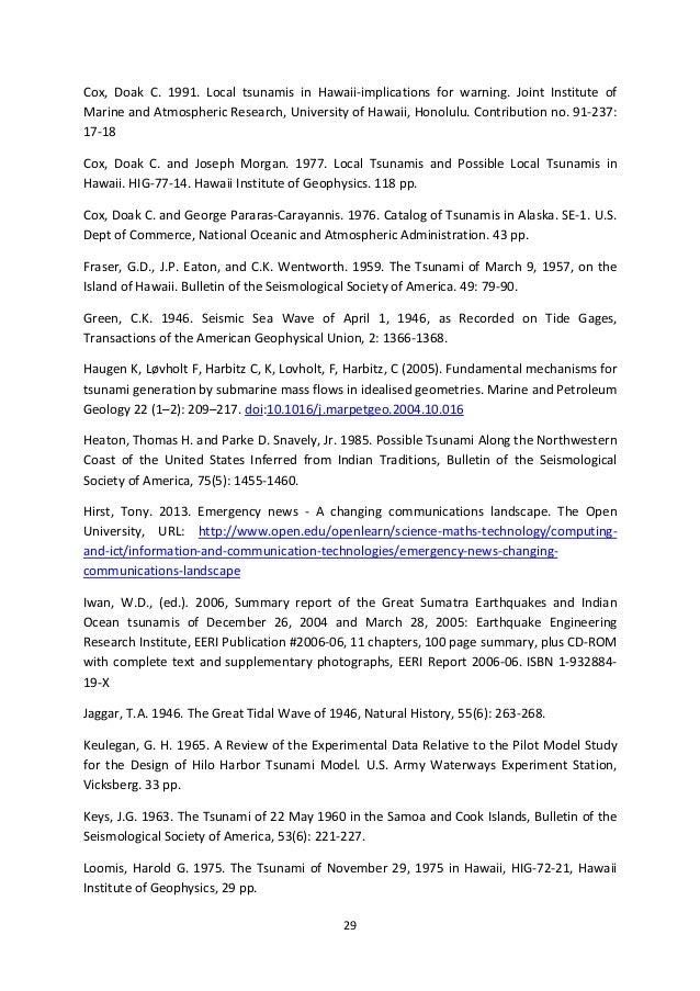 Top tsunami online portal paper blueprint 30 malvernweather Image collections