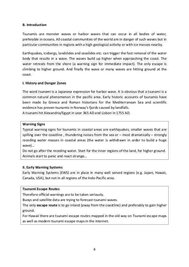 expository essay on tsunamis Grade 9 sample essays topic1: write an expository essay in which you discuss the numerous causes, effects tsunamis, hurricanes and many.