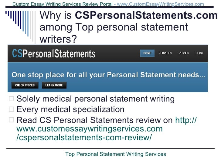 Best personal statement service