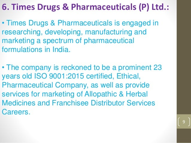 Top pharma tablets manufacturer in india ppt
