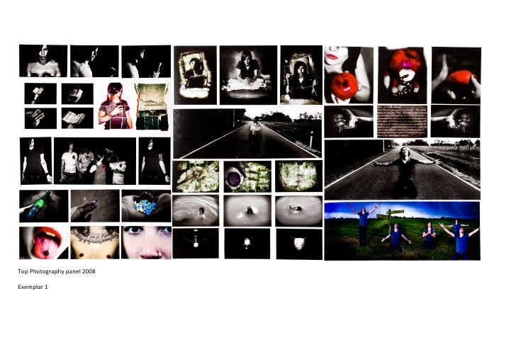 Top Photography panel 2008  Exemplar 1
