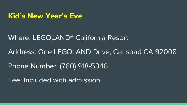 Top Places To Spend New Year S Eve For Carlsbad Ca Homeowners