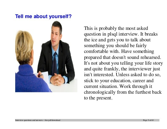 top job interview questions and answers pdf