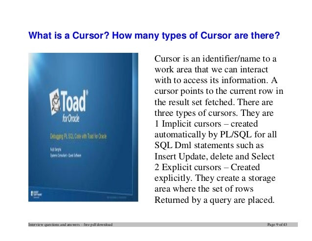sql interview questions and answers for freshers pdf